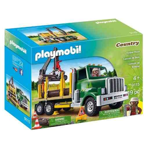 Playmobil Country – Caminhão de Madeira- Sunny  - Doce Diversão