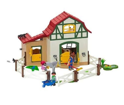 Playmobil Country Fazendinha com Pôneis  - Sunny  - Doce Diversão