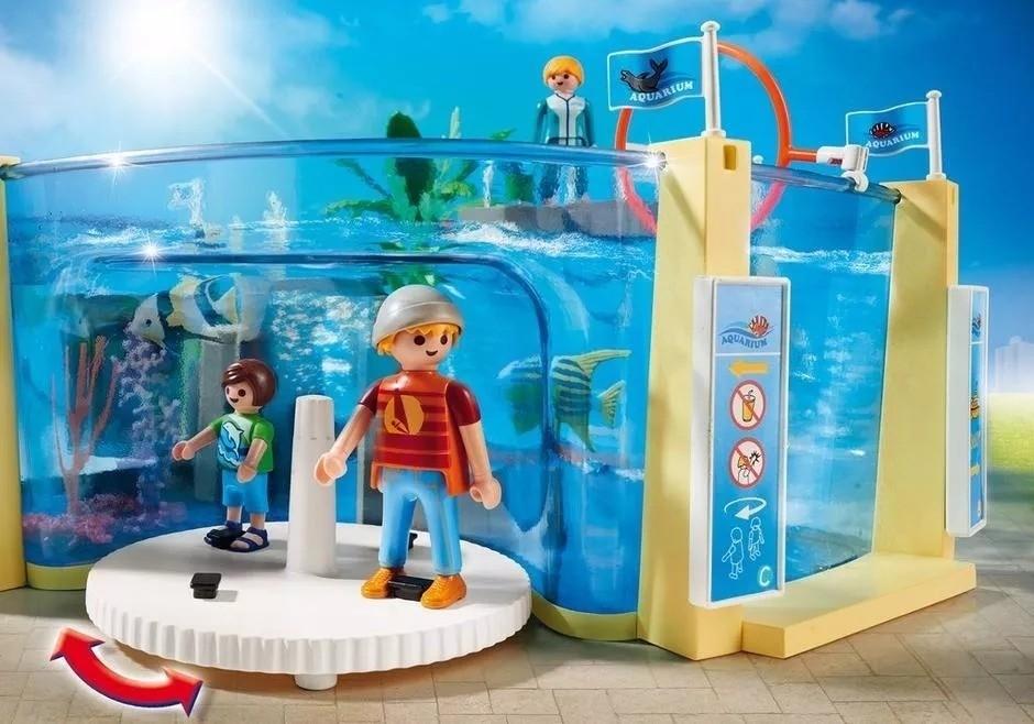 Playmobil Family Fun  - Aquário Marinho  - Doce Diversão