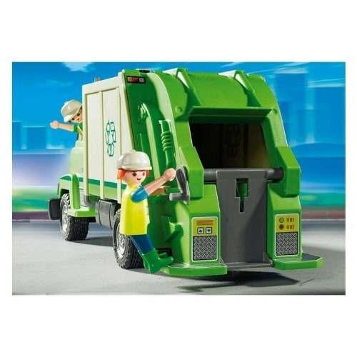 Playmobil Life Caminhão De Reciclagem Com 27 Peças   - Doce Diversão