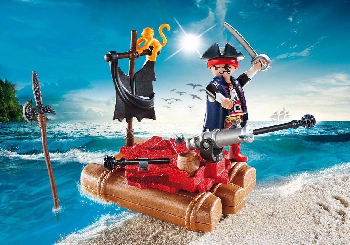 Playmobil Maleta Piratas  22 peças  - Doce Diversão