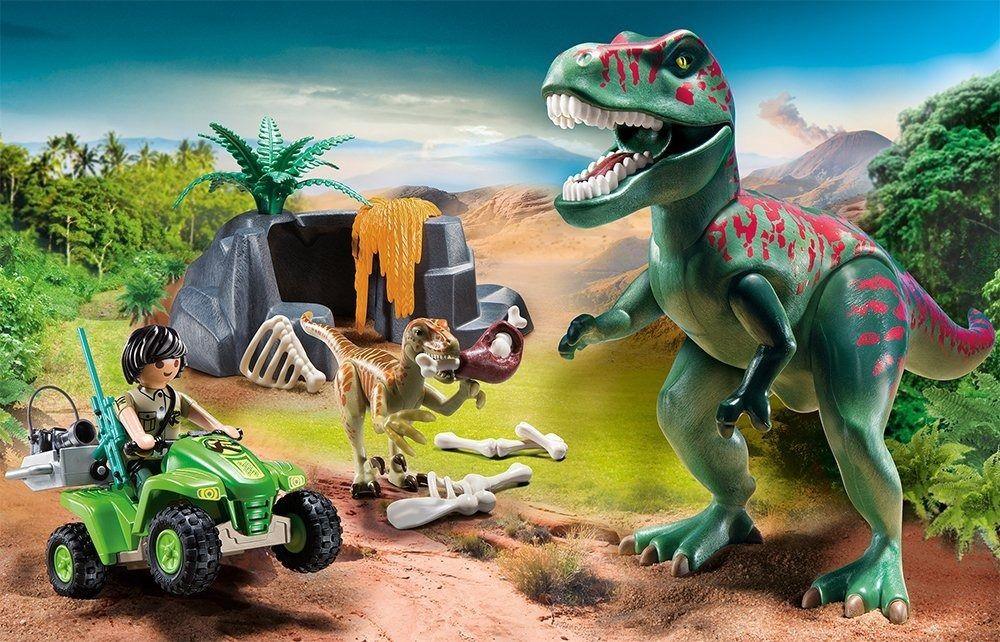 Playmobil - Rex Com Explorador E Quadriciclo - Sunny   - Doce Diversão