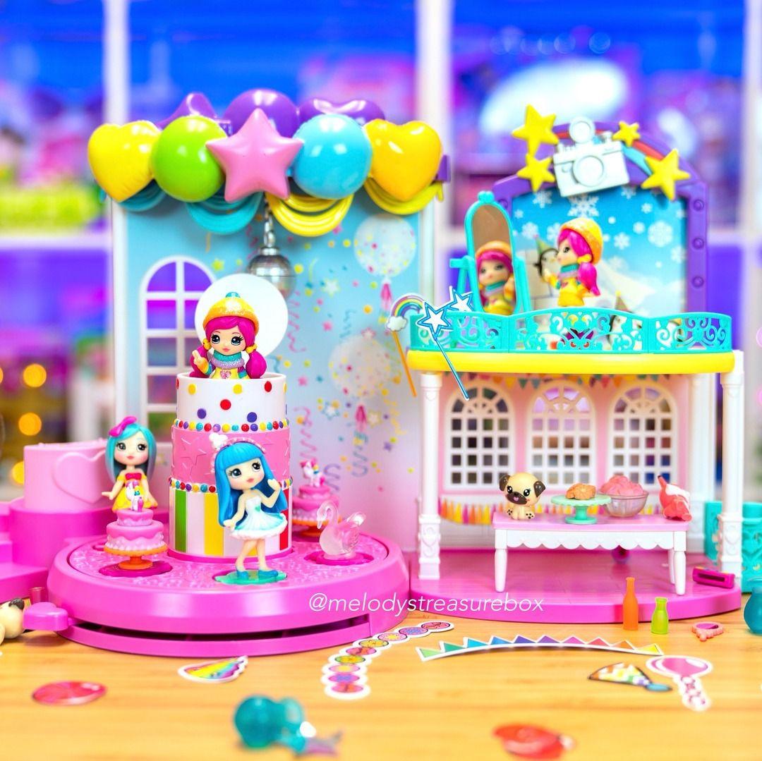 Playset Pista Baile Festa Poptastic Party Pop Teenies - Sunny  - Doce Diversão