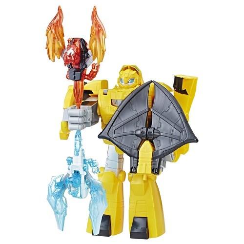 Playskool Transformers 5 Bumblebee 25cm Conversivel Dragão - Hasbro  - Doce Diversão