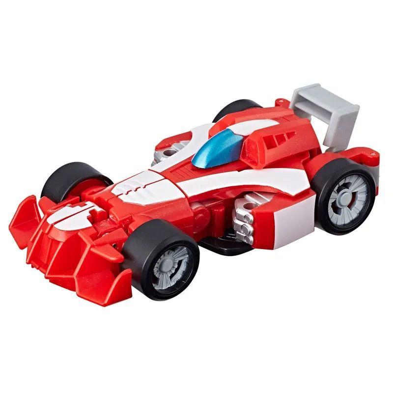 Playskool Transformers Rescue Bots Academy 2 em 1-  Heatwave Bombeiro 13 cm -  Hasbro  - Doce Diversão