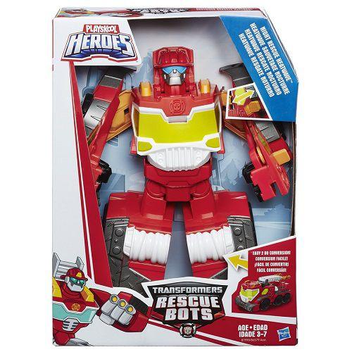 Playskool Transformers Rescue Megabots Heatwave – Hasbro  - Doce Diversão