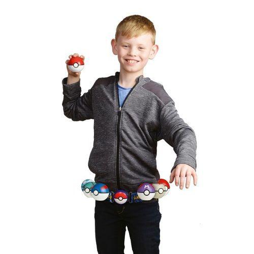 Pokémon kit – Cinto Clip Go + 2 Pokebola + 1 Figura - DTC  - Doce Diversão