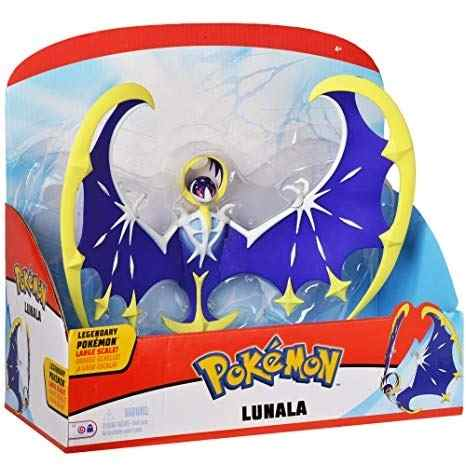 Pokémon Lendário Articulado Lunala 22 cm Dtc   - Doce Diversão