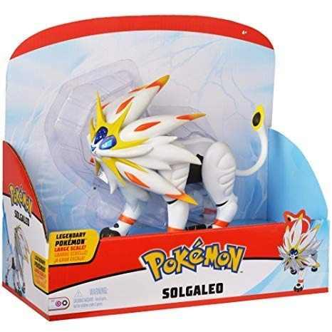 Pokémon Lendário Articulado  Solgaleo 17cm Dtc   - Doce Diversão