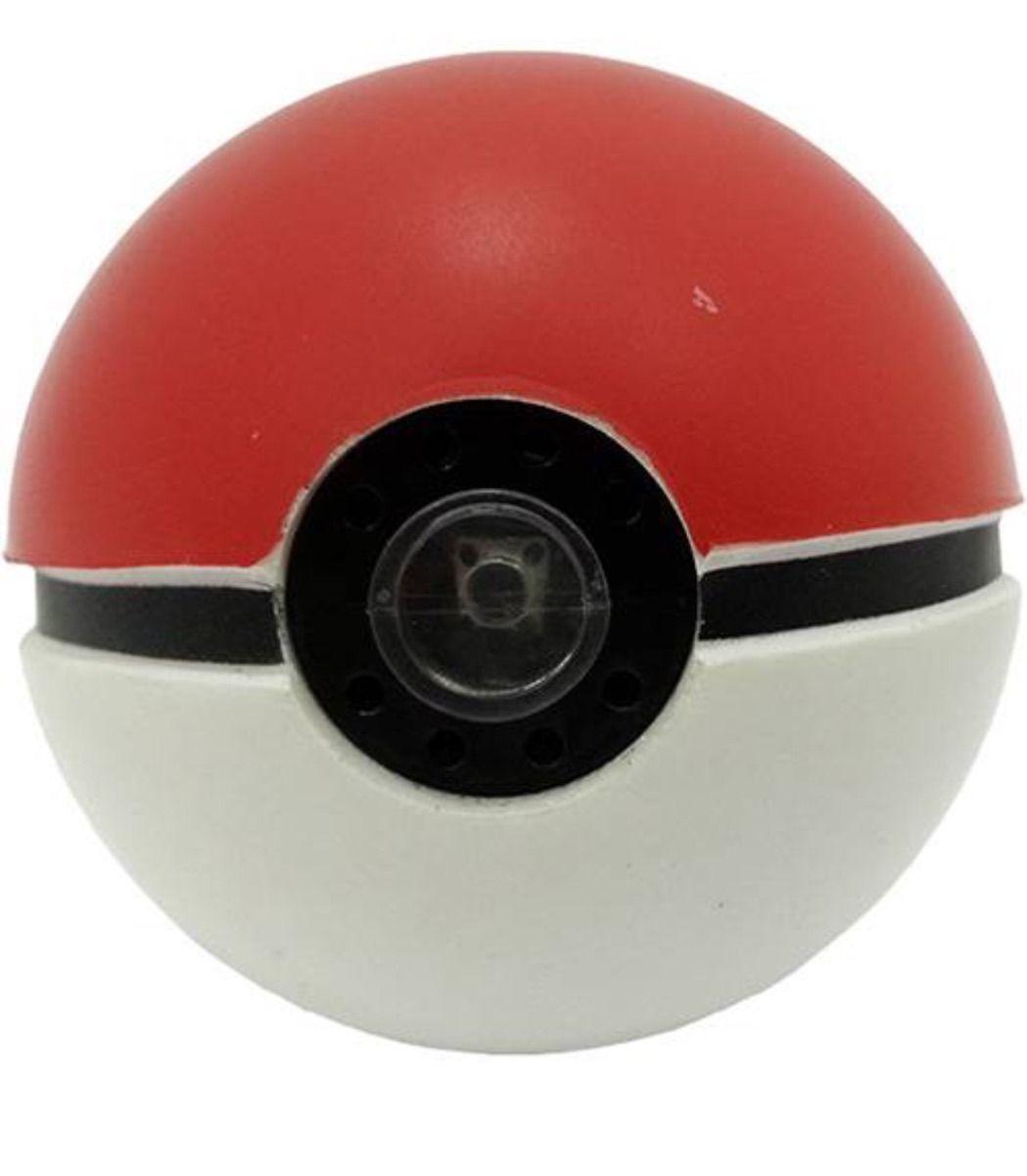 Pokémon - Pokebola + Pikachu -  Com som e luz Tomy   - Doce Diversão