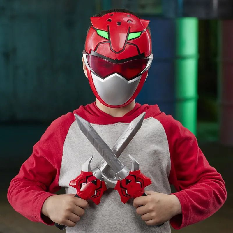 Power Rangers Beast Morphers – Kit treinamento Red Ranger Mascara e Adagas-  Hasbro  - Doce Diversão