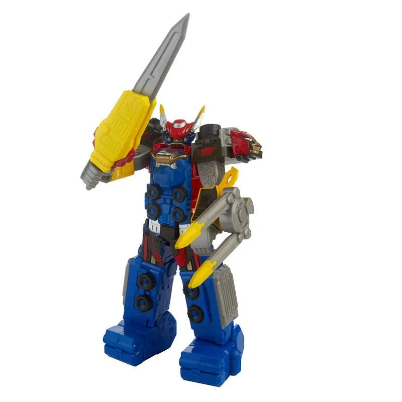 Power Rangers Beast Morphers Megazord Beast-X 30 cm  Articulado Hasbro  - Doce Diversão