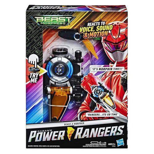 Power Rangers Beast Morphers – Morfador Beast X Com 30 Sons e Luz Hasbro  - Doce Diversão