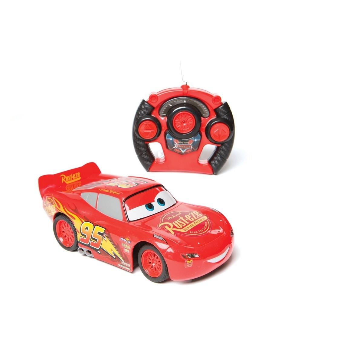 Radio Controle 7 funções Disney Carros 3 Relampago Mcqueen 1:14 – Estrela  - Doce Diversão