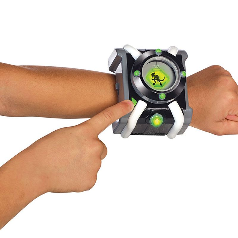 Relógio com Luzes e Som Portugues Ben10 – Omnitrix luxo - Sunny  - Doce Diversão