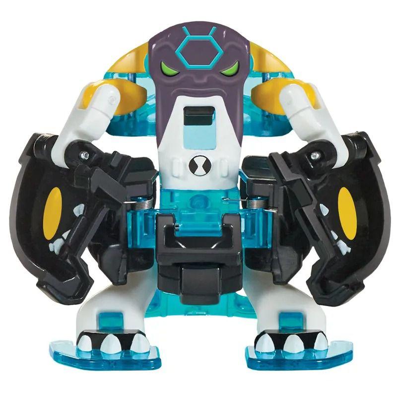 Relógio Omnitrix Lançador Figura batalha C/2 Bala de Canhão e Diamante -  Sunny   - Doce Diversão