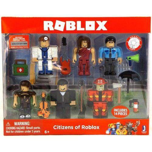 Roblox Citzens of Roblox Com 14 peças – Brinquedos Chocolate  - Doce Diversão