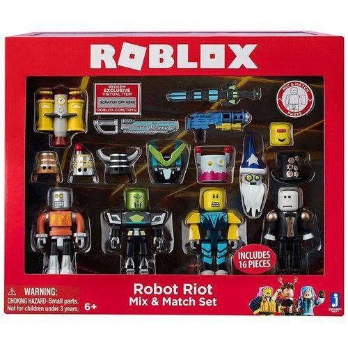 Roblox Robot Riot Mix E Match Set Com 16 peças – Brinquedos Chocolate  - Doce Diversão