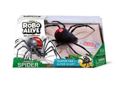 Robô Alive Realístico - Aranha – Super Rapida e Assustadora- Dtc   - Doce Diversão