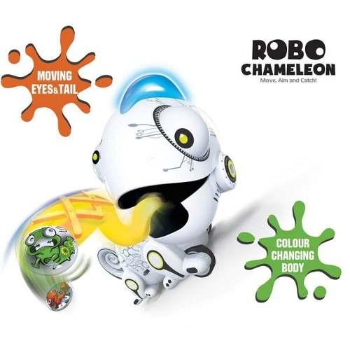 Robô Camaleão Silverlit C/ controle remoto e Luzes Colorida - DTC  - Doce Diversão