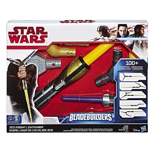 Sabre de Luz Bladebuilders de Chevalier Jedi 70 cm- Hasbro  - Doce Diversão
