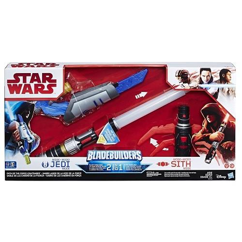 Sabre de Luz Caminho Força 2 em 1 Star Wars VIII Jedi e Sith - Hasbro  - Doce Diversão