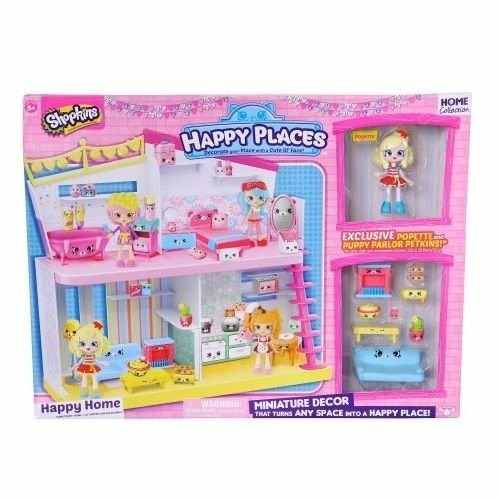 Shopkins Happy Places – Playset Happy Home Dtc  - Doce Diversão