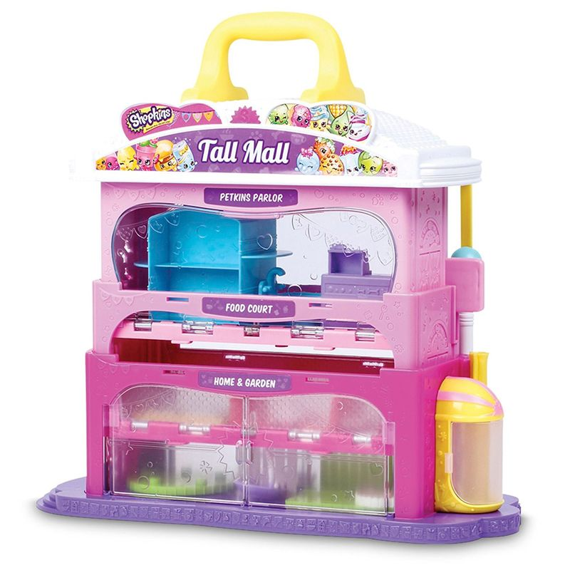 Shopkins Playset e Mini Figuras – Shopkins Center - DTC  - Doce Diversão