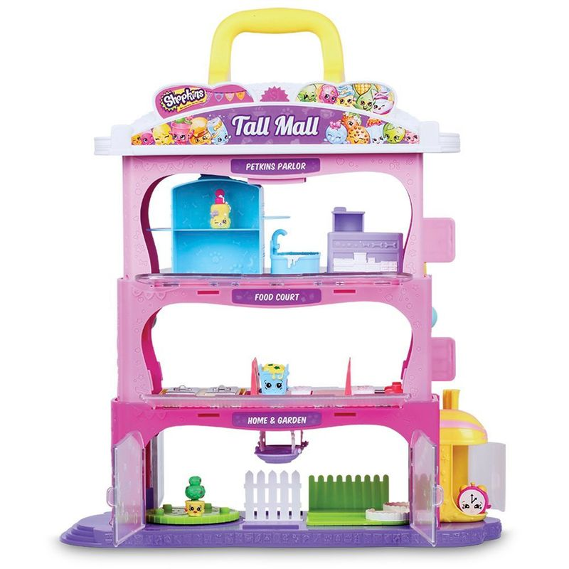 Shopkins Playset e Mini Figuras – Shopkins Center - DTC - Doce Diversão