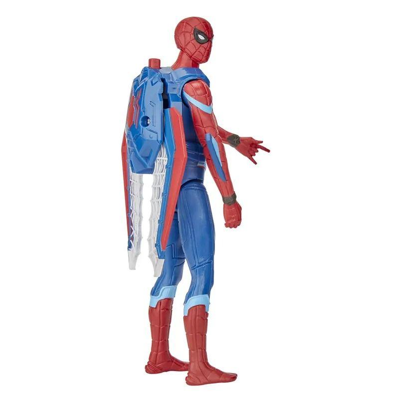 Spider-Man Longe de Casa – Boneco SpiderMan Articulado com Asas 15 cm - Hasbro  - Doce Diversão
