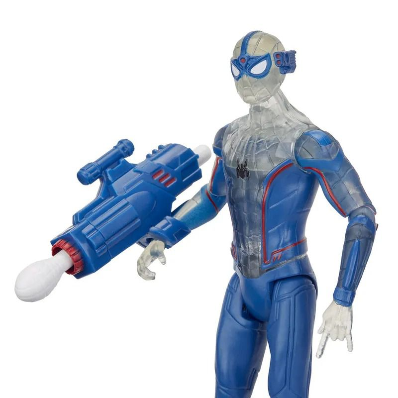 Spider-Man Longe de Casa – Boneco SpiderMan Concept Com lançador 15 cm - Hasbro  - Doce Diversão