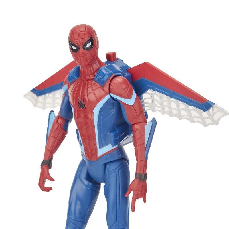 Spider-Man Longe de Casa – KIT 4 Bonecos Articulados Com Acessorio 15 cm - Hasbro  - Doce Diversão