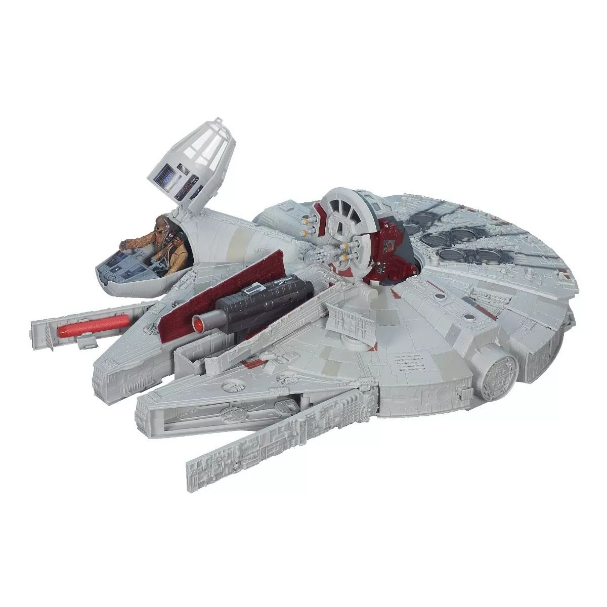 Star Wars Playset Millennium Falcon Deluxe Luz, Som E 3 Bonecos Hasbro  - Doce Diversão