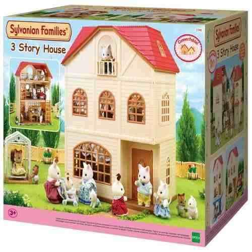 Sylvanian Families – Casa Três Histórias - Epoch Magia   - Doce Diversão