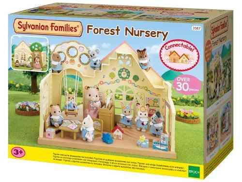 Sylvanian Families – Jardim De Infância Da Floresta - Epoch Magia   - Doce Diversão