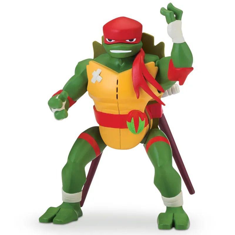 Tartaruga Ninjas Ascensão – Raphael 15 cm Com Som E Função Salto Lateral - Sunny  - Doce Diversão