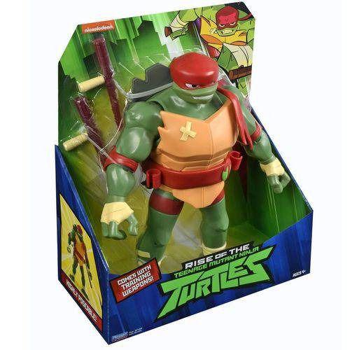 Tartarugas Ninja Ascensão – Raphael Luxo Gigante Articulado 28 cm Com 4 Acessorios - Sunny  - Doce Diversão
