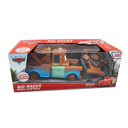 Tow Mater Carros Disney Rádio Controle 7 funções - Toyng  - Doce Diversão