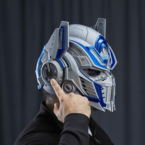 Transformers 5 Capacete Optimus Prime Edição Luxo - Hasbro  - Doce Diversão