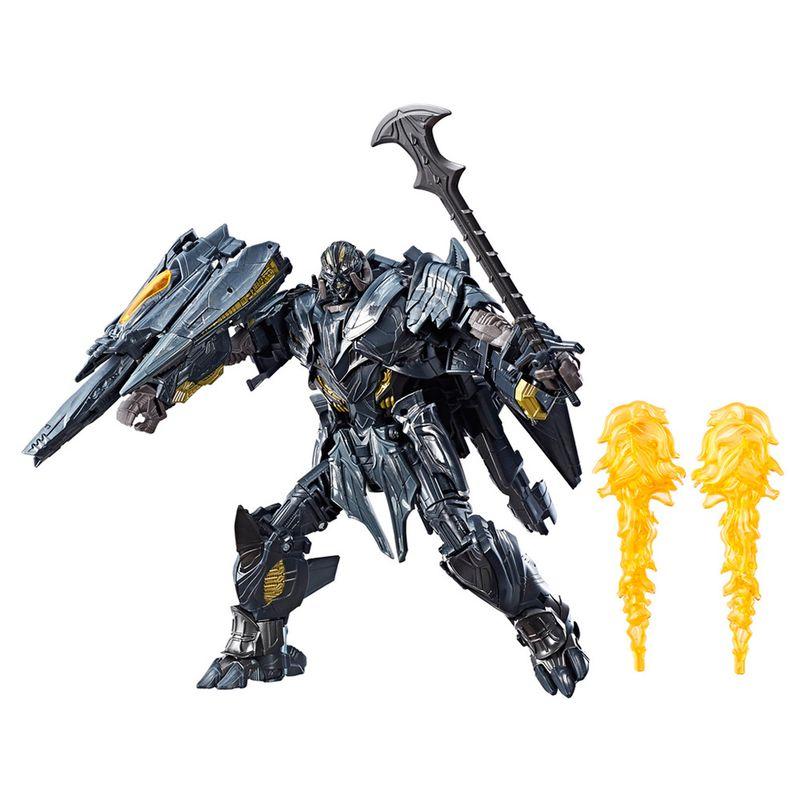 Transformers 5 Leader Class Premier Luxo 22cm – Megatron - Hasbro  - Doce Diversão