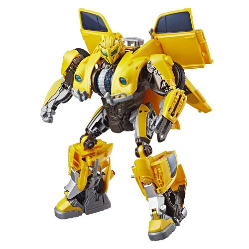 Transformers 6 Bumblebee Deluxe Power Charge 28 cm Com Som e Luz– Hasbro   - Doce Diversão