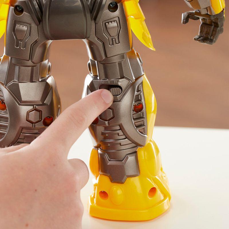 Transformers 6 Bumblebee - DJ Bumblebee Dançarino C/Som Hasbro  - Doce Diversão