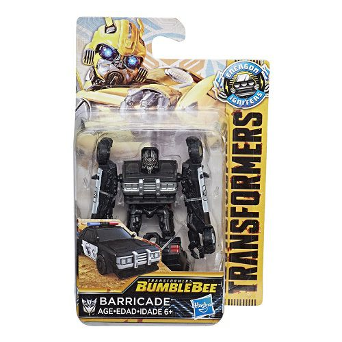 Transformers 6 Bumblebee – Energon Barricade 9 cm - Hasbro  - Doce Diversão