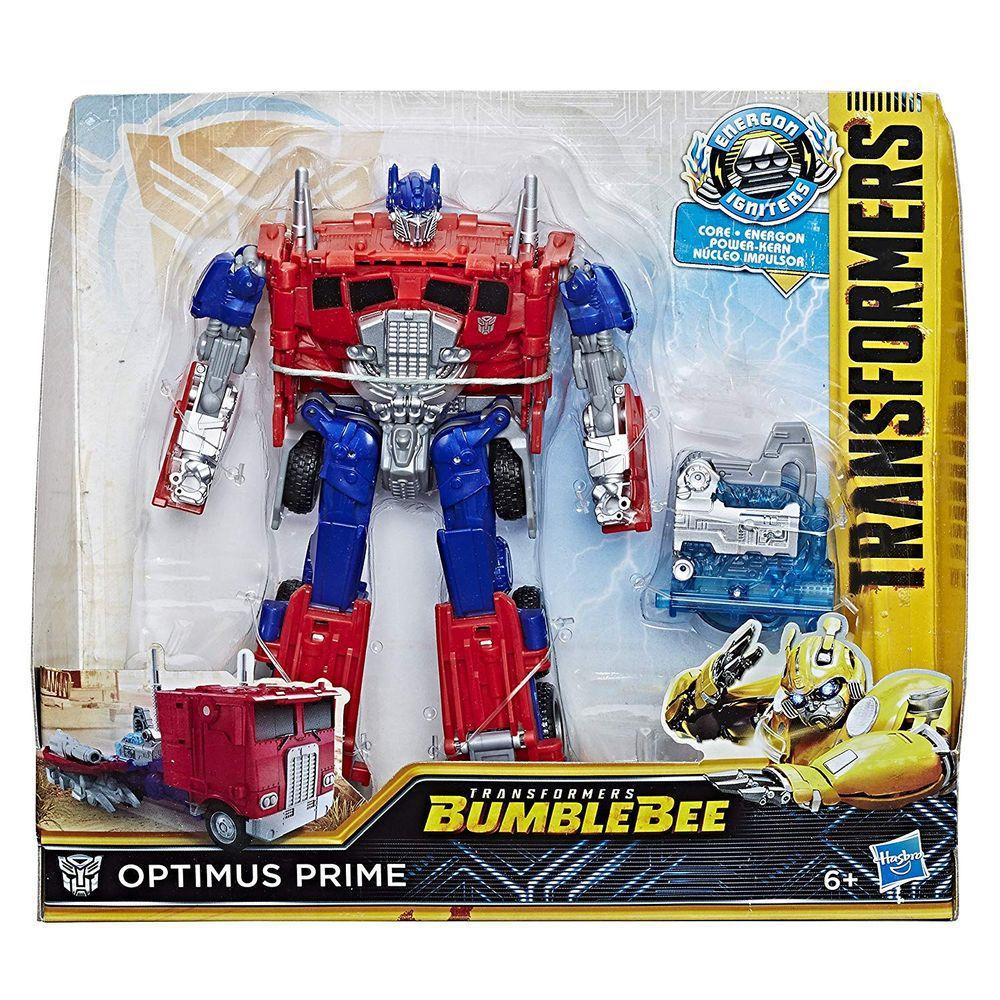 Transformers 6 Bumblebee - Energon Igniters Nitro - Optimus Prime - Hasbro  - Doce Diversão
