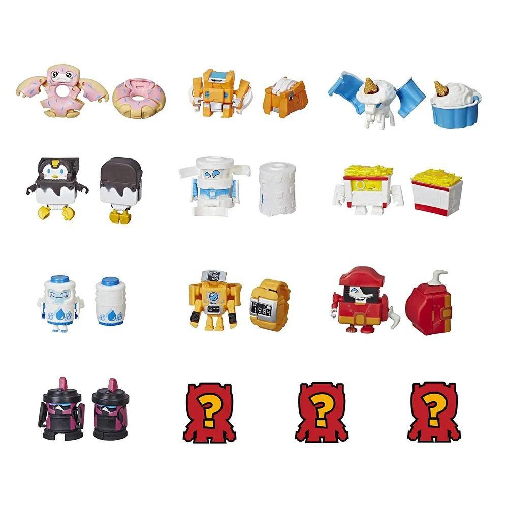 Transformers BotBots – Com 5 Bonecos - Esquadrão Limpeza - Hasbro  - Doce Diversão