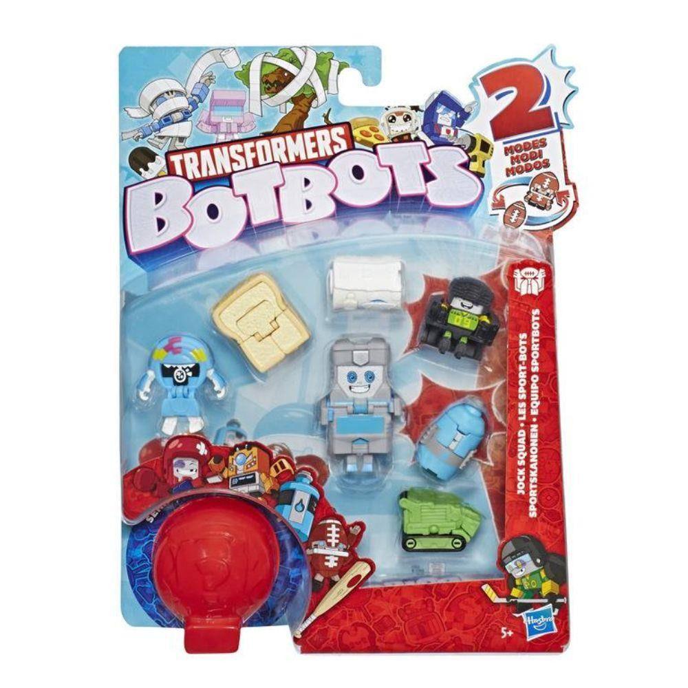 Transformers BotBots – Com 8 Bonecos - Galera Atleta - Hasbro  - Doce Diversão