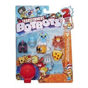 Transformers BotBots – Com 8 Bonecos - Gangue Calórica - Hasbro  - Doce Diversão