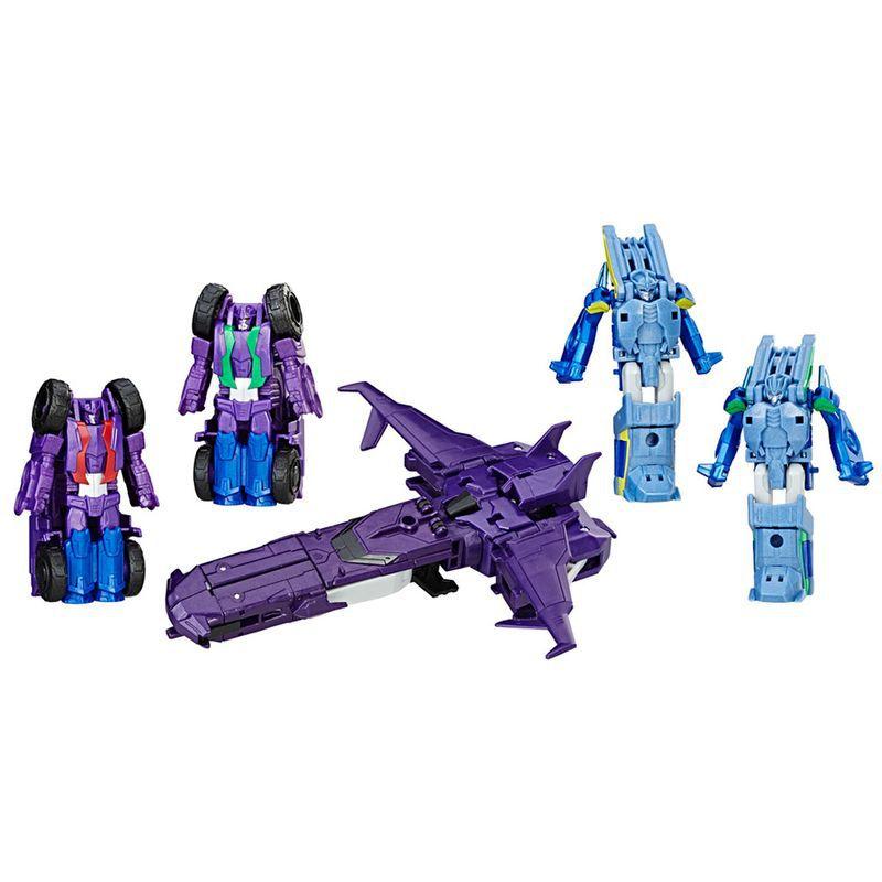 Transformers CombinerForce Luxo Indisguise Galvatronus – 5 Robos  - Hasbro  - Doce Diversão