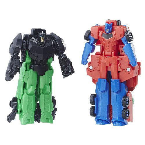 Transformers Crash Combiner Force Optimus Prime e Grimlock  - Hasbro - Doce Diversão
