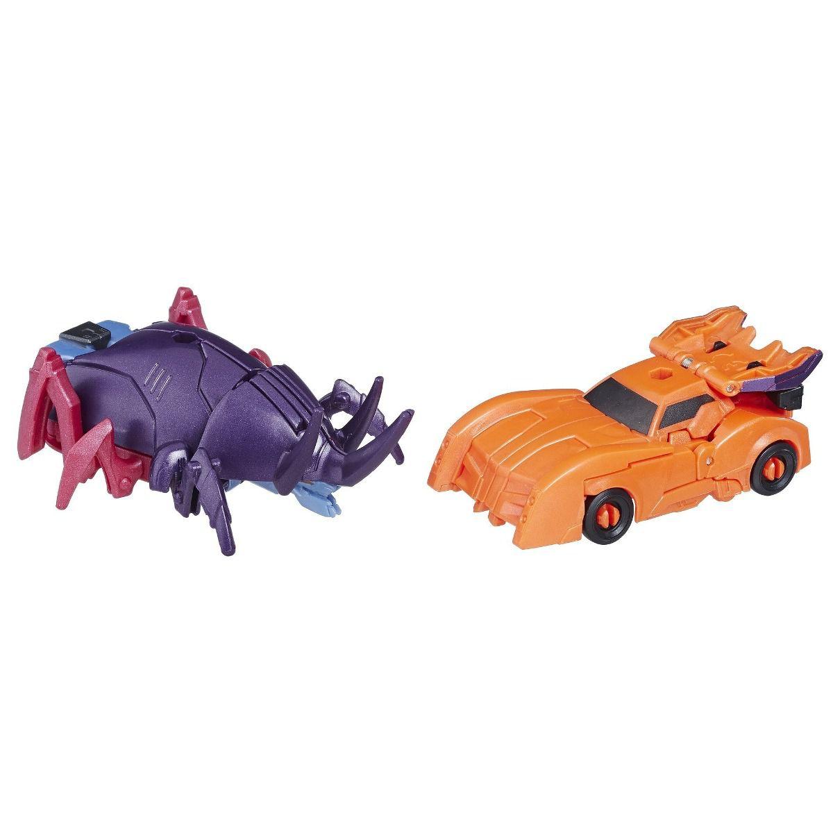 Transformers Crash Combiner Force Saberhorn e Bisk  - Hasbro  - Doce Diversão
